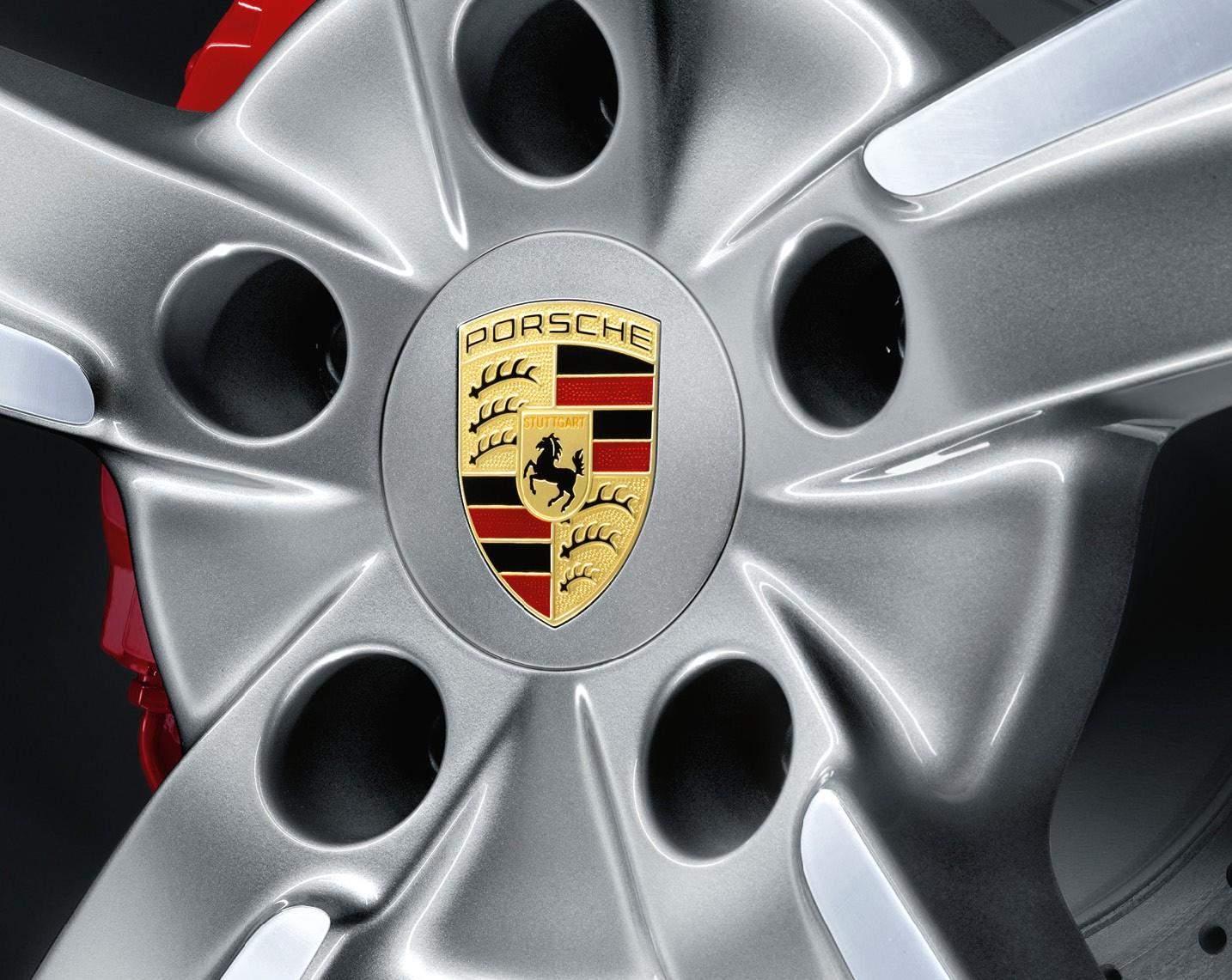 Porsche fälgemblem centrumkåpor i silverfärg 65 och 75 mm navkapslar e41939e865fee