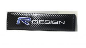 Volvo R Design bälteskuddar kuddar i kolfiber Rdesign