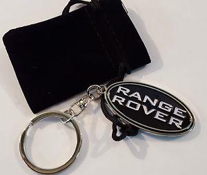 Range Rover logo nyckelring i original modell
