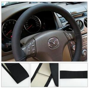 Universal rattskydd i läder. Enkelt att klä in ratten