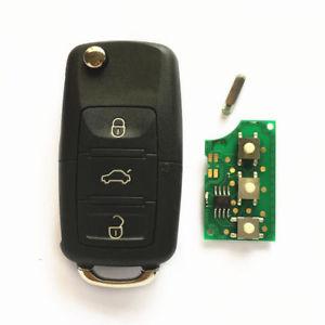 Volkswagen Audi Seat 434 MHz nyckel med 3 knappar