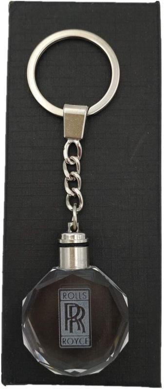 Rollce Royce kristall LED nyckelring nyckelhänge