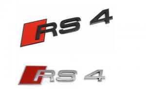 Audi RS4 emblem till bilens baklucka / skärmar