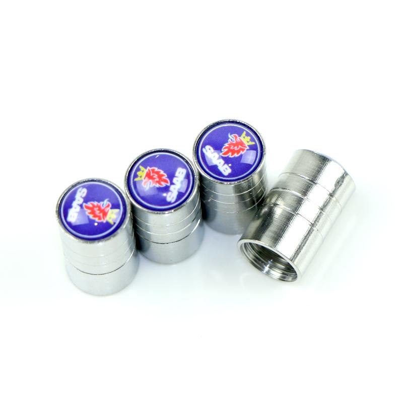SAAB ventilhattar med hög kvalité i aluminium 4 pack
