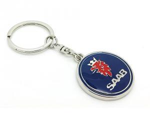 Saab logo original nyckelring / nyckelhänge