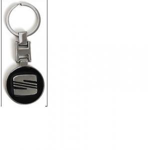 Seat logo nyckelring i snygg modell