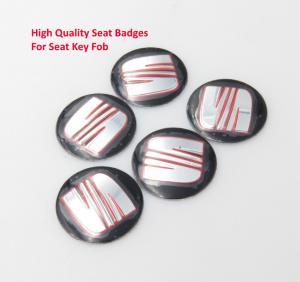 SEAT emblem till bilnycklarna 2-pack nyckelemblem