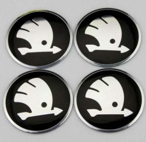 Skoda hjulnav emblem, fälgemblem till bilen