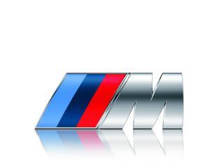 BMW M logo emblem originalet (Nya modellen)