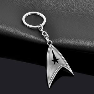 Star Trek nyckelring i antiksilver