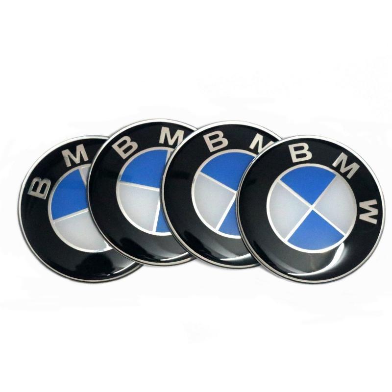 BMW logo stickers emblem 3d 64, 67, 72, 78 mm