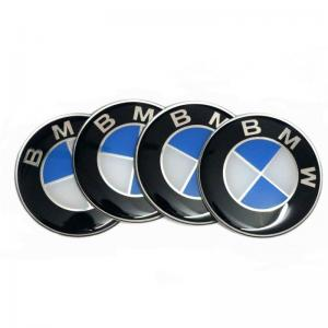 BMW logo stickers emblem 3d 64, 67, 72, 78 mm