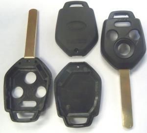 Subaru bilnyckel fjärrnyckel med 4 knappar