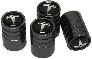 Tesla logo ventilhattar ventillock till bilen