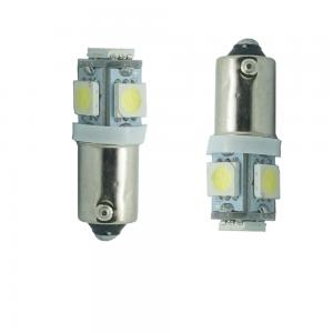 2st T4W LED diod lampa BA9S 5SMD Canbus Xenonvit