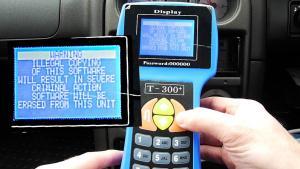 T300 OBD2 nyckel och startspärr programmeringsverktyg