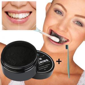 Aktivt kol tandbleknings pulver och rengöring