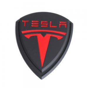 Tesla logo emblem till skärmar baklucka motorhuv