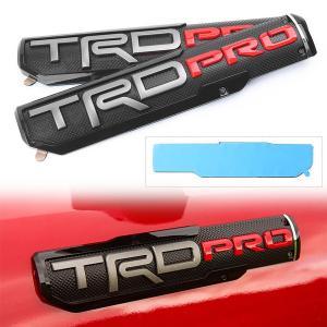 Toyota TRD PRO emblem märke till bilen