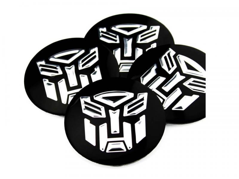 Transformers logo hjulnav emblem 56, 65 mm