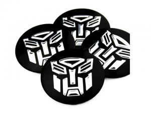 Transformers logo hjulnav emblem 4-pack 56 mm