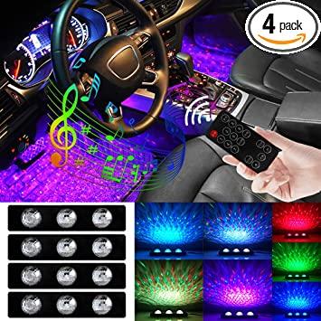 Universal ambient light interiör belysning till bilen