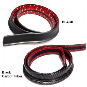 Universal svart / kolfiber vinge läpp till baklucka