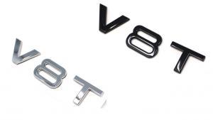 V8T V8 Turbo logo emblem till VW Audi Skoda