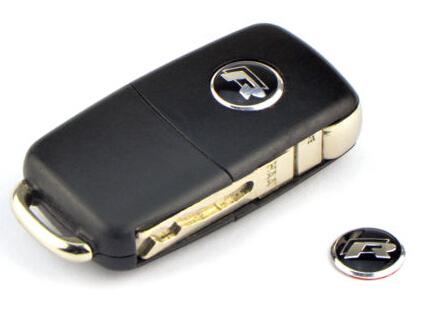 Volkswagen 2st VW R line Rline emblem till bilnyckeln