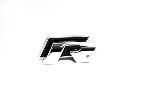 Volkswagen VW R emblem till bilens skärmar / baklucka