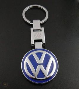 Volkswagen VW logo nyckelring nyckelhänge