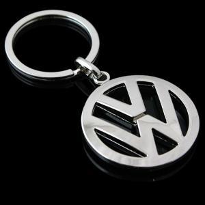 Volkswagen VW logo bilmärke nyckelring