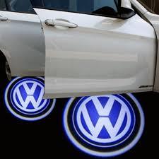 Volkswagen VW logo dörrlampor dörrbelysning
