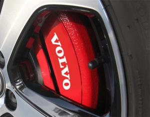 Volvo logo dekaler / stickers till bilens bromsar 4 pack dekal