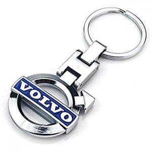 Volvo logo nyckelring nyckelhänge i original modell