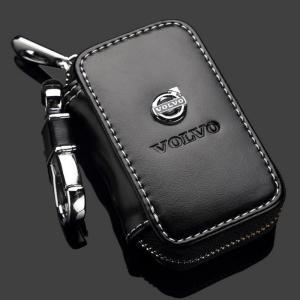 Volvo etui fodral till bilnyckeln i läder