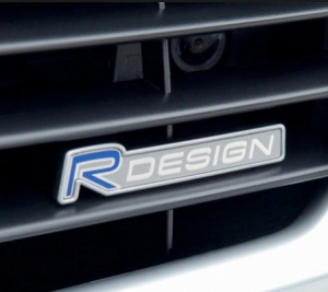 Volvo Rdesign R design emblem till grillen
