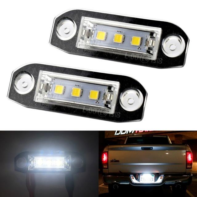 Skyltbelysning errorfri för Volvo. LED lampor till bilen