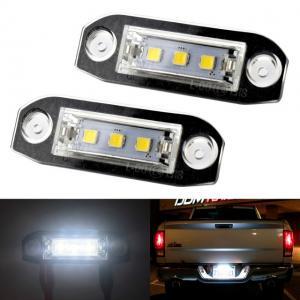 Volvo skyltbelysning Canbus vita LED SMD lampor till bilen