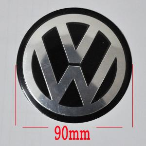 Volkswagen VW emblem, stickers 90 och 120 mm