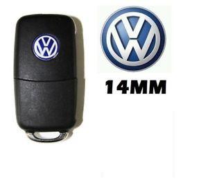 Volkswagen VW 2st emblem till bilnyckeln nyckelemblem