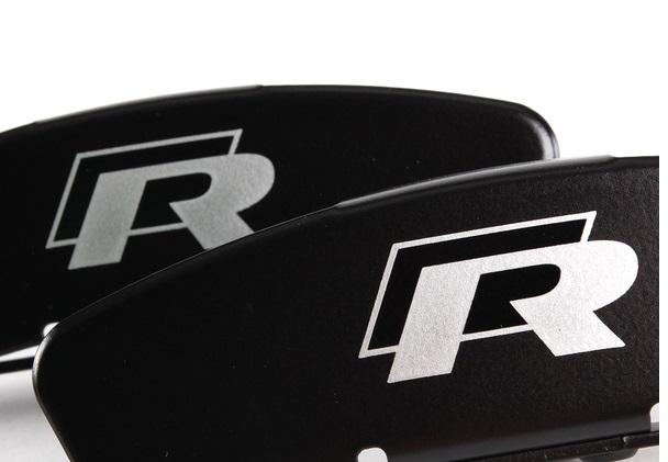 Volkswagen R logo dekal till bromsok bromsar 4 pack