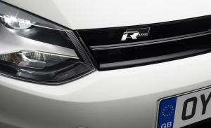 Volkswagen VW R Line Rline emblem till grillen