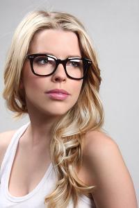 Wayfarer glasögon med klarglas utan styrka