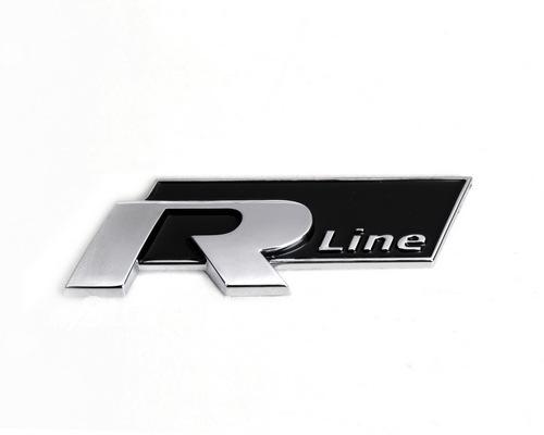 Volkswagen VW R line Rline logo emblem till bilen