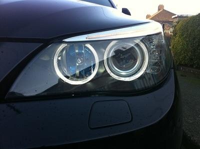 BMW Angel Eyes 7000K H8 BMW E60 E82 E87 E90