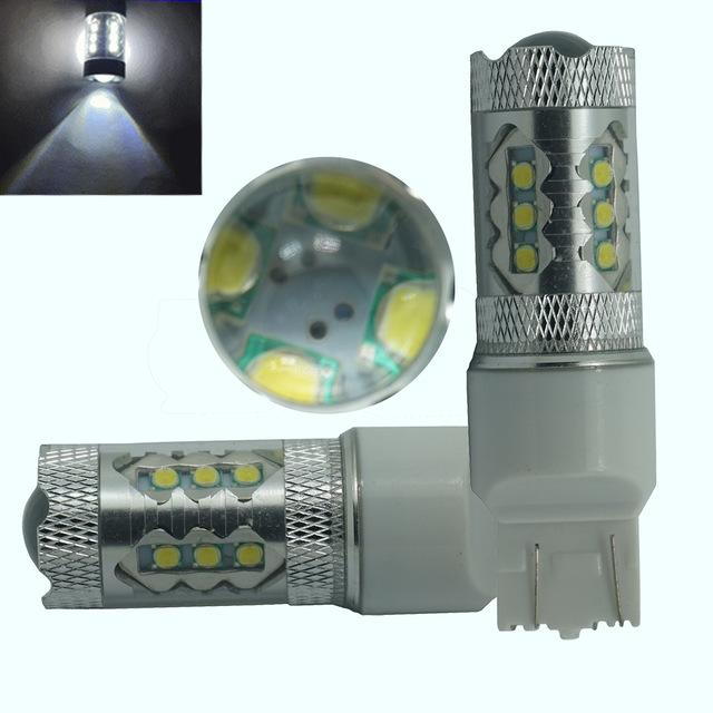 Högeffektivt vita T20 LED lampor lampa på 60W till bilen