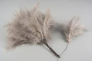 Light Taupe Duster 144 st - Feather Romance