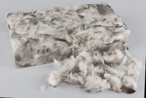 Zigzag Feather Confetti - Feather Romance