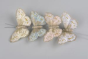 Lucky Mix Butterfly 9 cm - Feather Romance